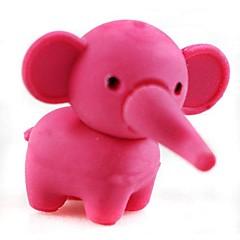 Pretty Detachable Elephant Shaped Eraser (Random Color x 2 PCS)