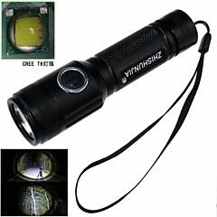 ZHISHUNJIA ZSJ208BT6 5-Mode 1xCree XM-L T6 Zoom LED taskulamppu (900LM, 1 x 18650, Musta)