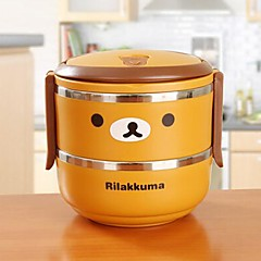 Cartoon Stainless Steel Insulation Lunch Box