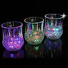 comodo el bar dedicado emisores de luz LED de luz nocturna vidrio de piña