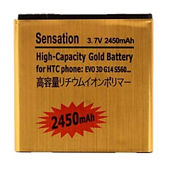 2450mAh Rechargeable Li-ion Battery for HTC G14