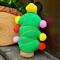 Christmas Party Plush Skrzypienie Zabawka dla zwierząt Psy (choinka)