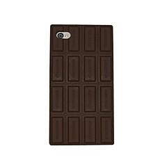 Suklaa pehmeä silikoni Case for iPhone 4/4S