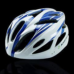 kheng 18 tuuletusaukkojen pc + eps sininen MTB maantiepyörän valettu yhtenäiseksi pyöräilykypärän (54-62cm)