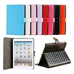 rombo plaid cassa dell'unità di elaborazione per ipad mini 3, Mini iPad 2, iPad mini (colori assortiti)