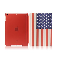amerikanska flaggan fodral för ipad mini 3, iPad Mini 2, iPad Mini w / auto Sleep / Wake up-funktion