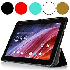timide ours ™ cas de couverture de la tablette en cuir de soie de luxe pour le transformateur de asus pad tf103c 10,1 pouces