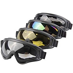 OBAOLAI Anti-UV Anti-Wear Snow Googgles Black Frame Gray Sensor Mirror Lens