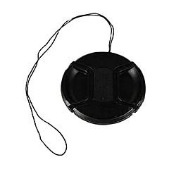 bevik 37mm bouchon d'objectif pour Sony HDR-CX520 CX560 cx500e xr260e XR500E avec sangle porte-laisse