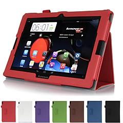 """レノボideatab a10-70 / A7600 10.1 """"タブレット用のハンドストラップレザーケースカード財布"""
