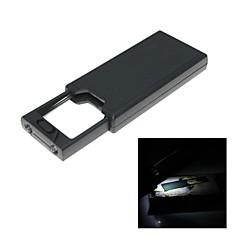 tragbare Handheld-2.5x / 45x Lupe mit LED