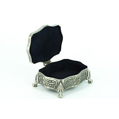 Jewelry Boxes Alloy Silver