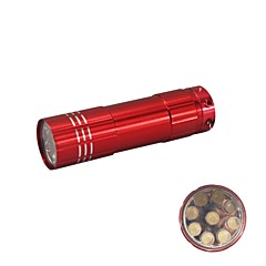 Hunterseyes 1-Mode 9-LED Flashlight Red  (3xAAA)