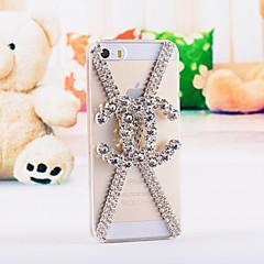 luxo diamante caso capa Voltar para o iPhone 5 / 5s