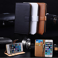 MAYCARI® Elegant PU Leather Case for iPhone 4/4S (Assorted Colors)