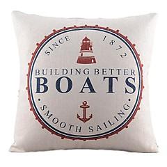 łodzie morskie bawełna / płótno pokrywa poduszki dekoracyjne