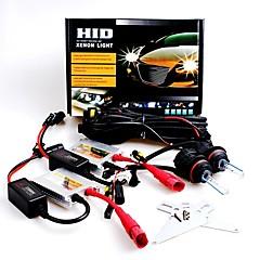 12V 55W 9007 High / Low 6000K Slim Aluminum Ballast HID Xenon Headlights Kit
