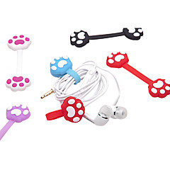 Lovely Cartoon Cat Claw Shape Wire Winder