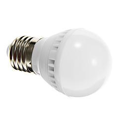 3W E26/E27 LED 글로브 전구 G45 10 SMD 2835 250-280 lm 내추럴 화이트 음향 작동 / 센서 AC 220-240 V