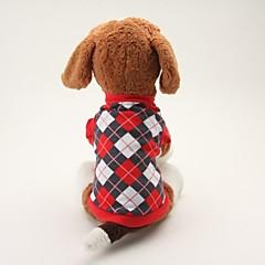 dejlig bomuld tartan mønster tøj til hunde (assorterede farver og størrelser)