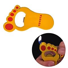 pieds créatifs métalliques briquets jouets (couleur aléatoire)