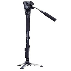 Yunteng 288 Professional Photography Monopod Tripod+Unipod Holder for Universal Camera Black
