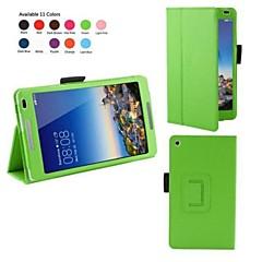 10.1 tommers lichee mønster pu lærveske med stativ holder for Huawei MediaPad m1 (s8-301w) (assorterte farger)