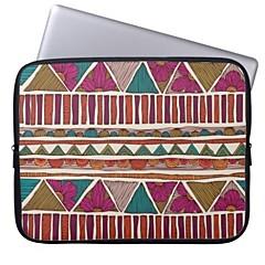Elonbo Flowers Stripe 13'' Laptop Neoprene Protective Sleeve Case for Macbook Pro/Air Dell HP Acer