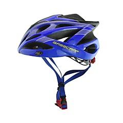 basecamp® bc-007 nye ankomst opgradering af høj kvalitet støbt ultralet justerbar cykelhjelm blå + sort + sølv