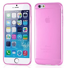 Ultrathin Transparent Silicone Back Cover for iPhone 6s 6 Plus