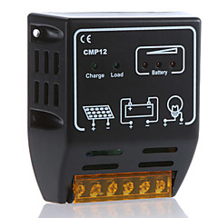 cmp12 10a 12v / 24v sol laddningsregulatorn solpanel batterikontroll regulator