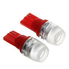 T10 1.5W Red LED  Car Instrument Lamps (DC12V, 2Pcs)