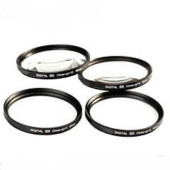 55mm 4pcs close-up kit de filtre avec le sac de filtre (1, 2, 4, 10)