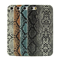 Snake Skin Design Pattern Hard Case for iPhone 5/5S (Assorted Colors)