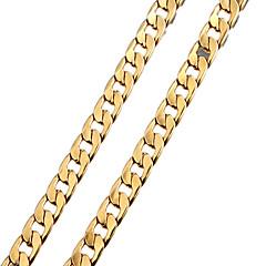 επιχρυσωμένο αρκετές τρύπες αλυσίδα κολιέ αλυσίδα των ανδρών με άγκιστρα αστακό