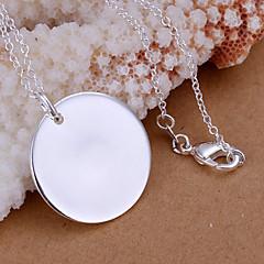 Colgantes Brillante Round Shape plata 1