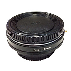 NewYi MD-Nikon Optical Glass Minolta MD Lens to Nikon Adapter for D700 D90 D80