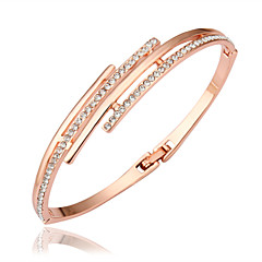 Fashion Rose Gold Plating Bracelet Party/Daily/Casual 1pc