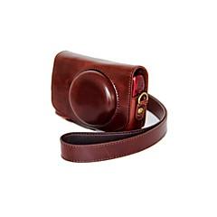 dengpin® Leder abnehmbare Schutz Kamera Tasche Abdeckung Öl Haut für Canon SX700 HS