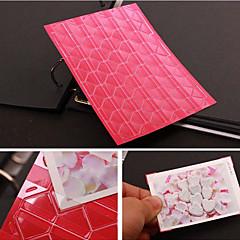 protetor de canto cor sólida diy foto adesivo (102 adesivos / peças de cores sortidas)