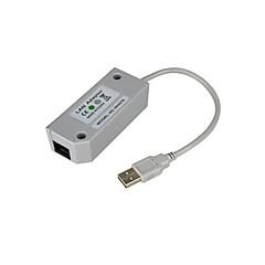 usb 2.0 lan adapter nätverkskort för Nintendo Wii-konsolen videospel