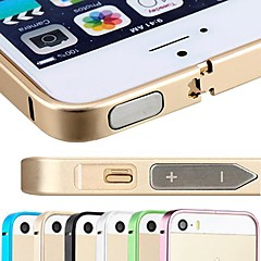 DSB® Premium Aircraft Aluminium 0.7 mm Ultra Thin Slim Frame Bumper Case Cover for iPhone 5/5S(Assorted Colors)