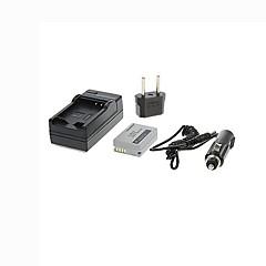 ismartdigi-can nb-10l (920mAh, 7.4v) batterie de l'appareil + bouchon + ue chargeur de voiture pour Canon G1X g15 g16 SX40HS sx50hs