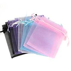 Organza Bag Gift Bags Mixed Color(12Pcs)(Color Random)