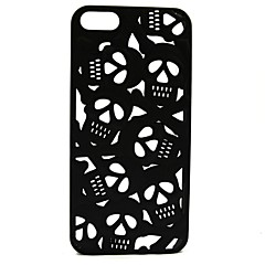 3D Hollow Out Anaglyph Stereoscopic Skull Phone Cases for iPhone 5/5S(Assorted Color)