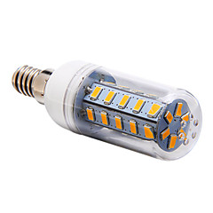 7W E14 / G9 / E26/E27 LED Corn Lights T 36 SMD 5730 700 lm Warm White / Cool White / Natural White AC 220-240 V