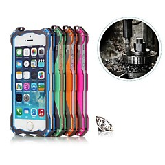 RJUST® RoboCop Aluminum Alloy Hard Back Cover for iPhone 4 / 4S (Assorted Colors)