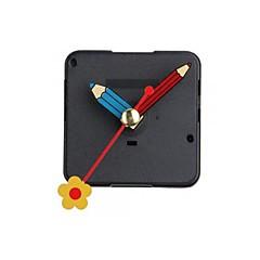 cuarzo mecanismo de movimiento del reloj silencio flor de la mano repa bricolaje