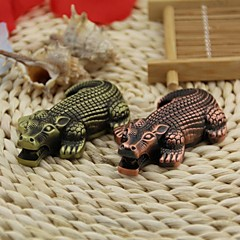 kreativa krokodil stil vindtät metall butan jet gaständare
