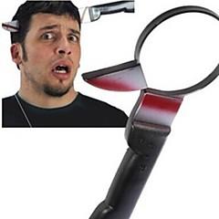 door het hoofd mes lastige speelgoed grap gadgets schrikken mensen grappig speeltje